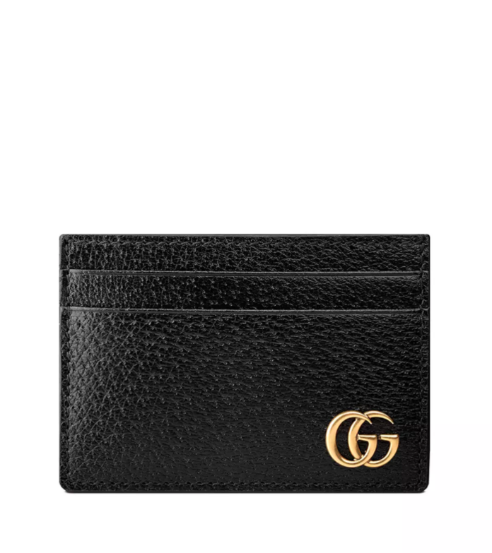 Leather Credit Card Case with Money Clip