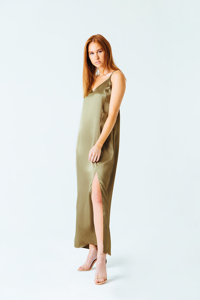 <p>Palm Beach Slip Dress</p>