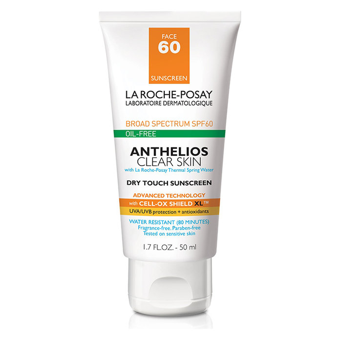 <p>La Roche-Posay Anthelios Clear Skin Oil Free Dry Touch Sunscreen Lotion</p>