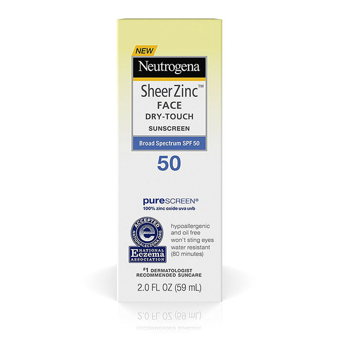 Neutrogena Sheer Zinc Sunscreen Face Lotion