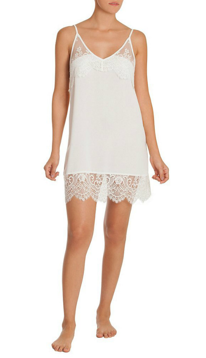 The Lace Trimmed Mini