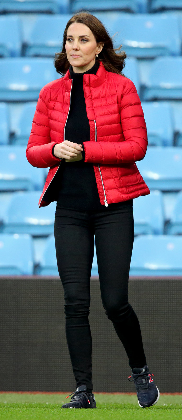 Kate Middleton in the High-Rise Skinny Jean