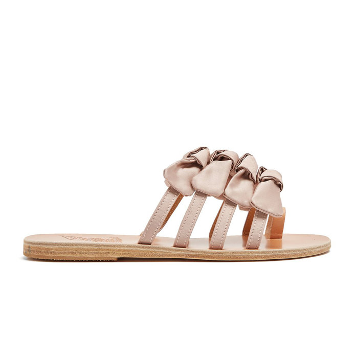 <p>Sandals Bow Tie Slides</p>