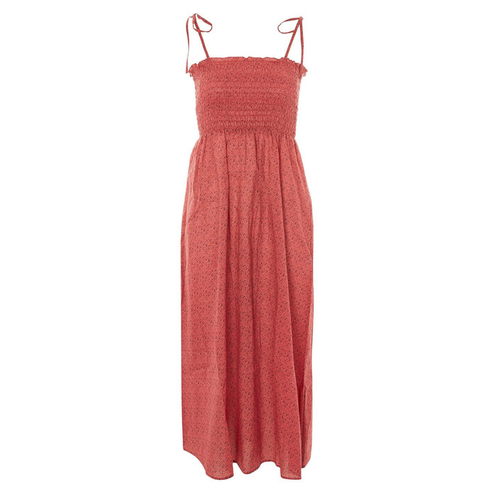 Topshop Shirred Dress