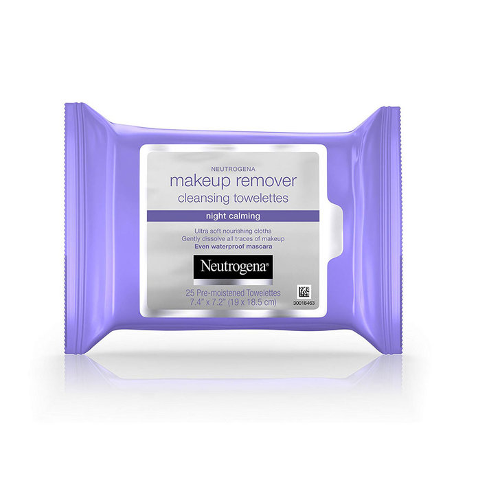 Neutrogena Night Calming Makeup Removing Cleansing Towelettes