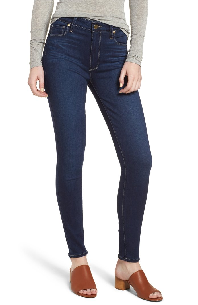 Hoxton High Waist Ankle Skinny Jeans