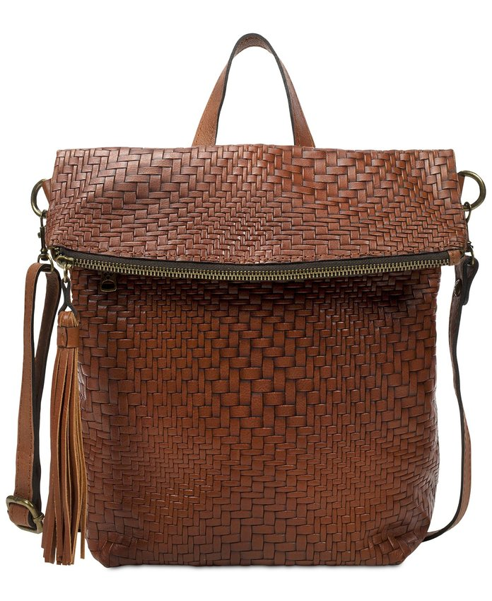 Woven Luzille Convertible Backpack