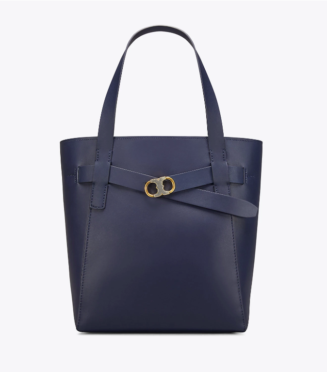 Gemini Link Leather Tote