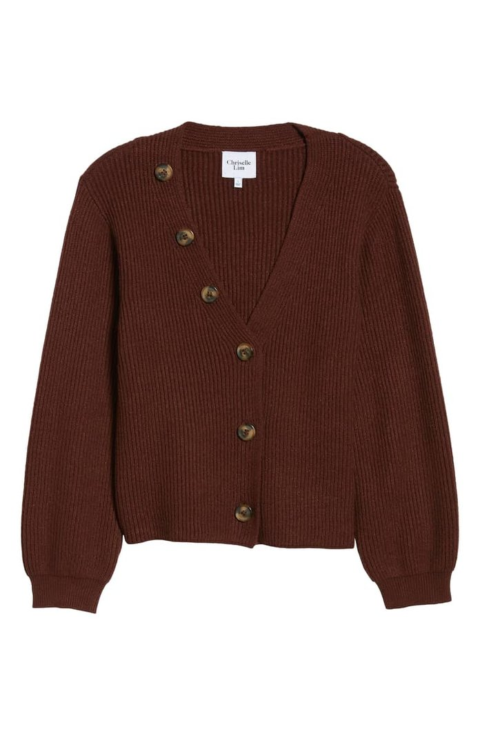 Cleo Button Detail Cardigan