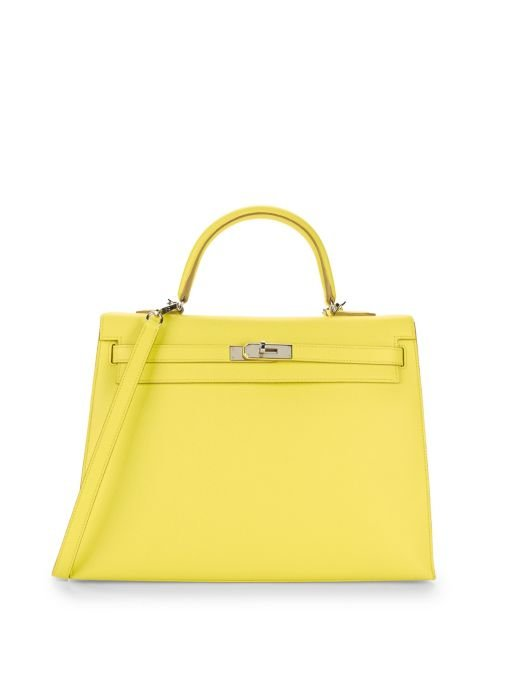 Soufre Epsom Kelly Bag
