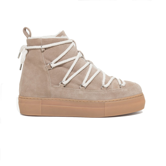 & Other Stories Suede Snow Boots