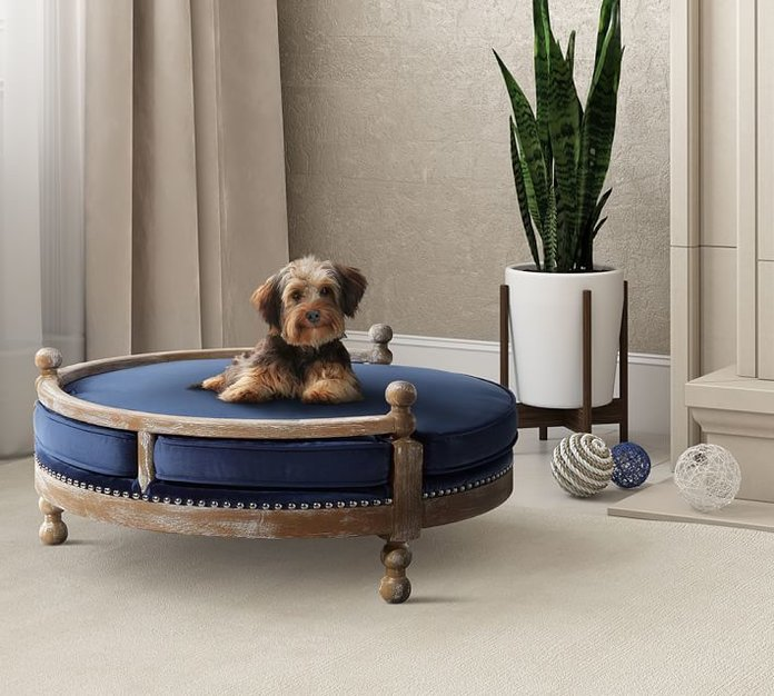 Pottery Barn Antique Wood Pet Bed
