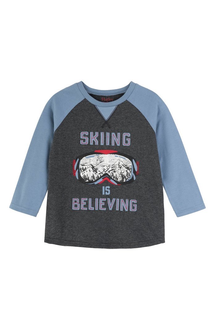 Hatley Graphic Raglan Sleeve Shirt