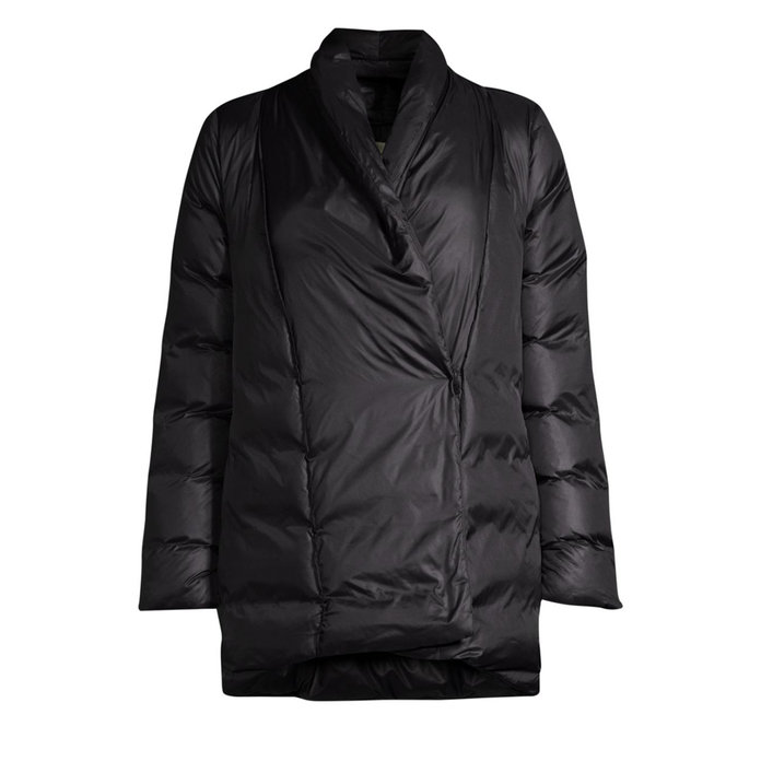 Eileen Fisher Quilted Down Jacket