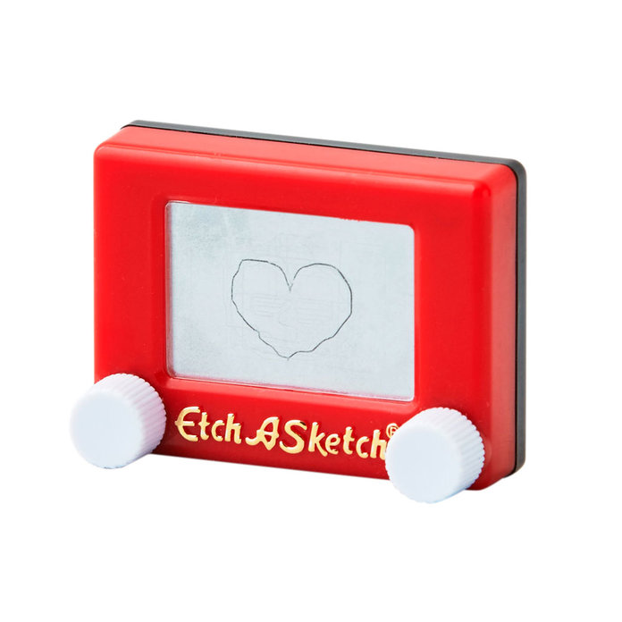 Worlds's Smallest Etch A Sketch
