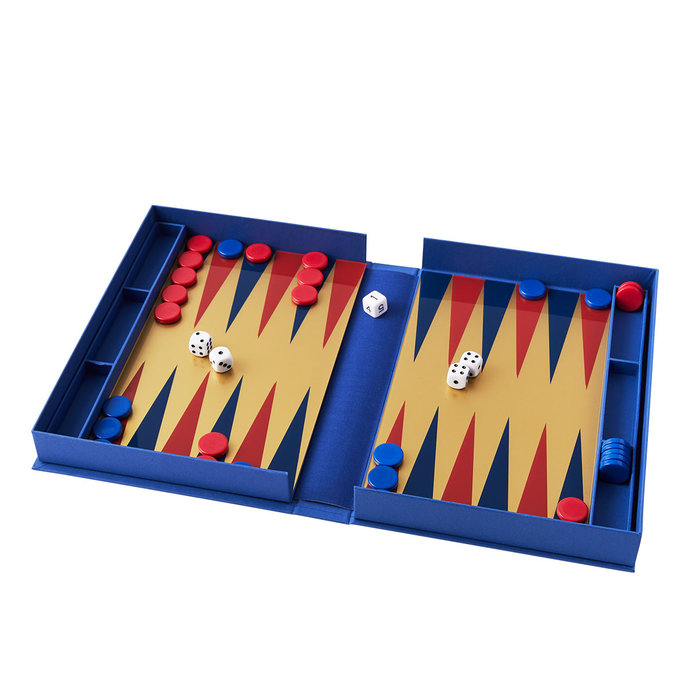 West Elm Backgammon Coffee Table Game