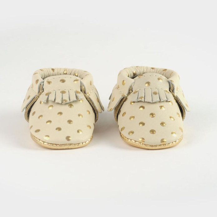 Freshly Picked Newborn Heirloom Moccasins