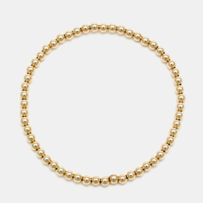 Karen Lazar 3MM Yellow Gold Filled Bracelet