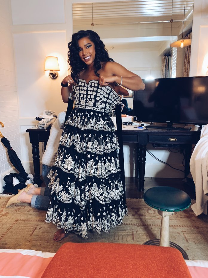Hannah Bronfman's Party Prep Includes a Lot of Sweating