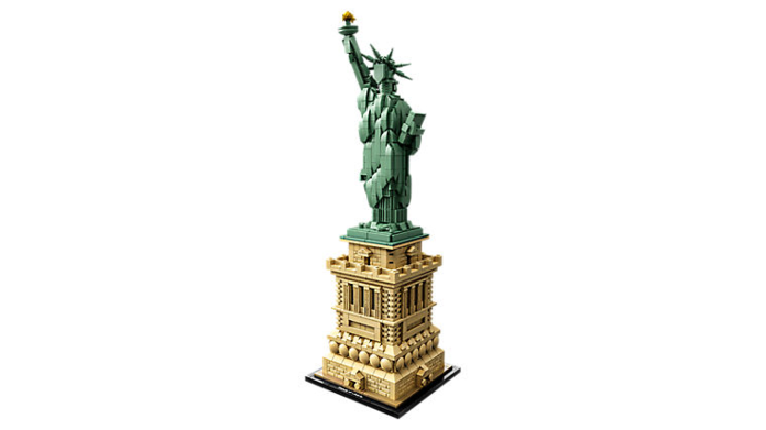 LEGO Architecture 21042 The Statue of Liberty Set