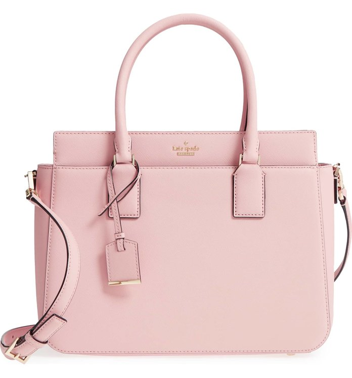 Kate Spade Cameron Street Sally Leather Satchel