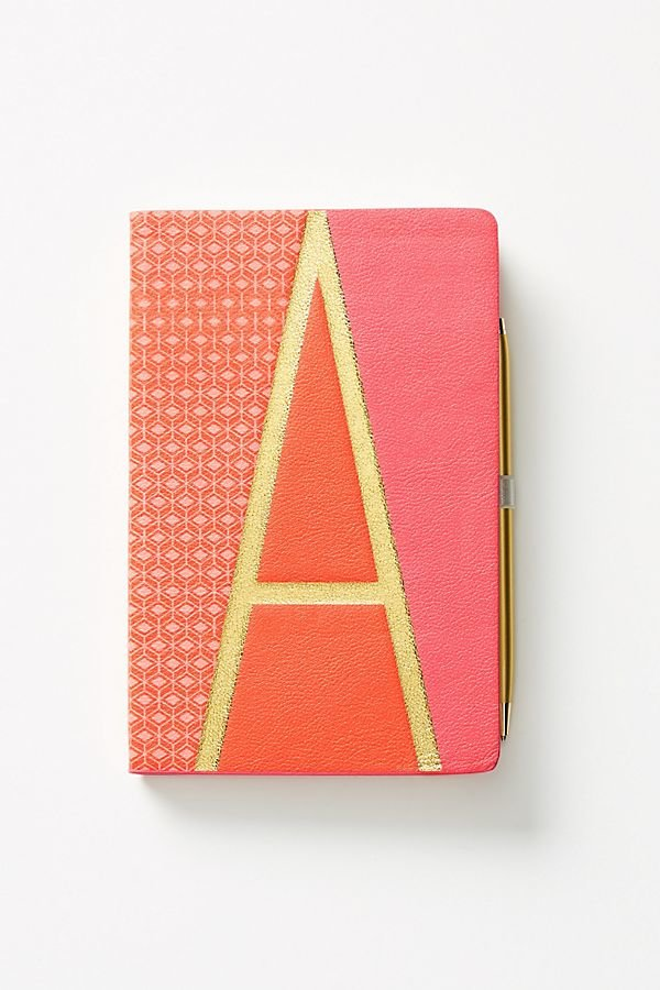 Anthropologie Monogram Journal