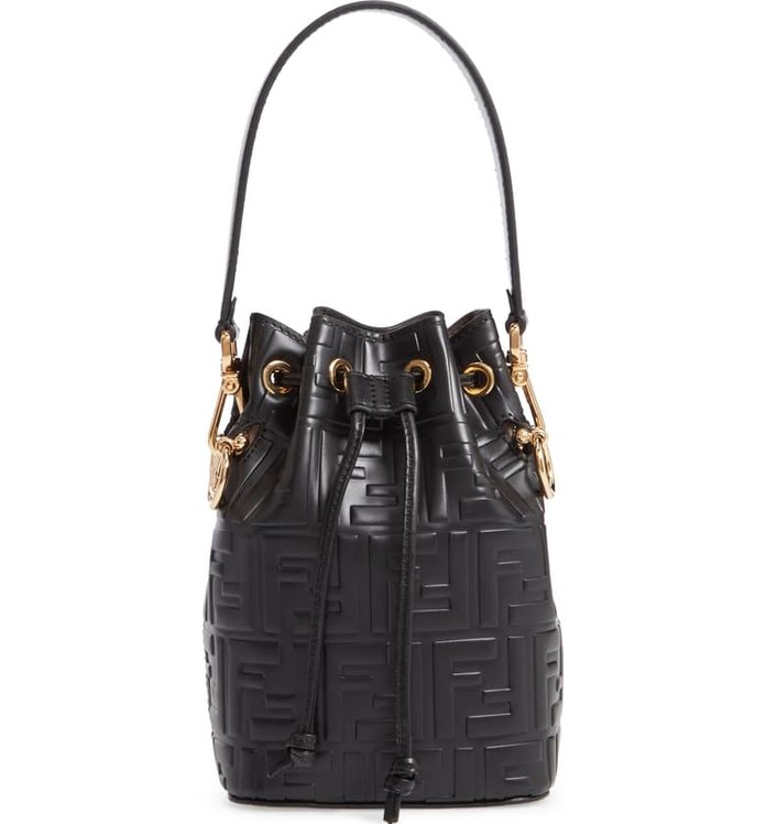 Fendi Mini Mon Tresor Bucket Bag