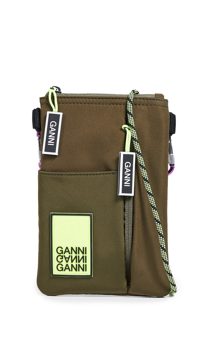 Ganni Crossbody Saddle Bag