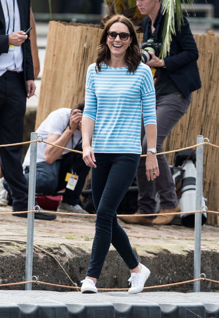 The Comfy Sneakers Kate Middleton Is Always Wearing Are Now on Sale