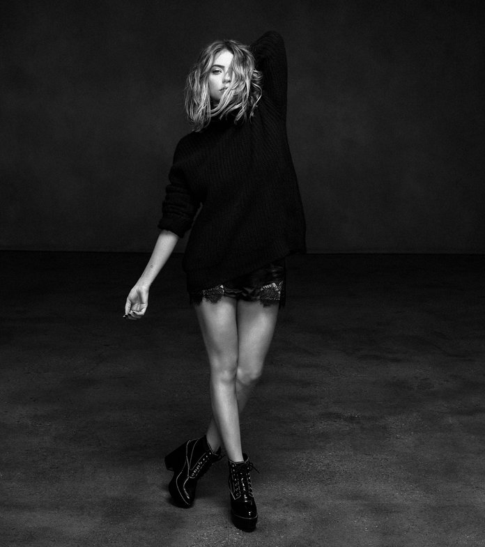 Ashley Benson La Ligne Shoot