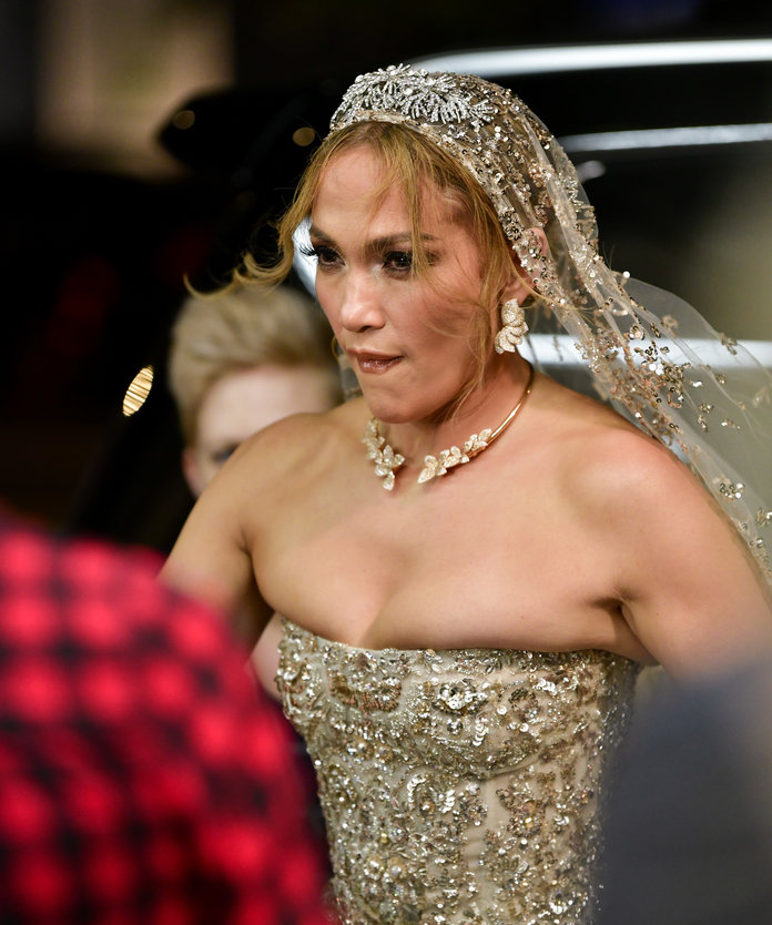 This May Not Be Jennifer Lopez's Real Wedding Gown, But It Should Be