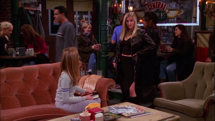 Remember When Reese Witherspoon Wore a Crop Top and Thigh-High Slit Skirt on Friends?