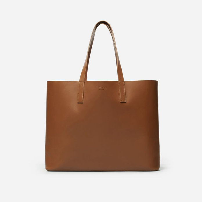 Everlane The Day Market Tote in Cognac