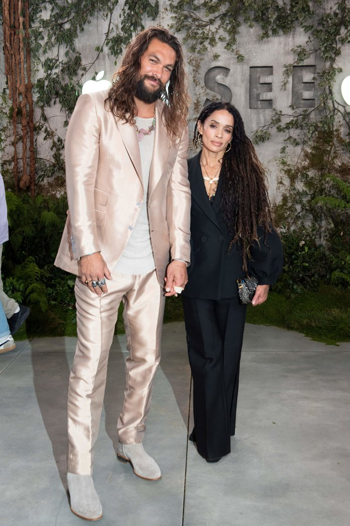 20 Times Jason Momoa and Lisa Bonet Made Coordinating Outfits Look So Freakin' Cool