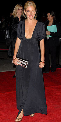 Sienna Miller, Ossie Clark, vintage, Look of the Day, celebrity style, Best of 2007