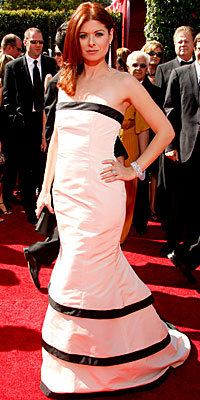 Debra Messing, C'Mon, Tell Us, What Was the First Award You Ever Won?