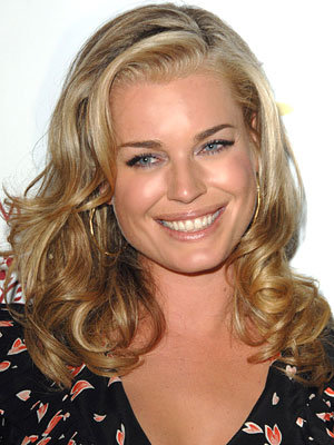 Rebecca Romijn - low waves hair