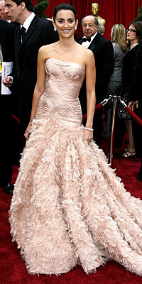 Penélope Cruz at the Oscars
