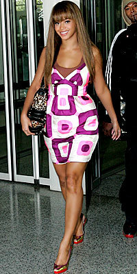 Beyonce Knowles, Milly, Christian Louboutin, Look of the Day, celebrity style, Best of 2007