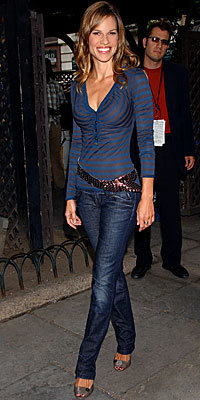 Hilary Swank, Miss Sixty, Look of the Day, celebrity style, Best of 2007
