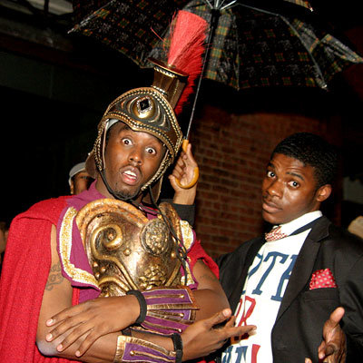 Sean P. Diddy Combs - Stars in Halloween Costumes