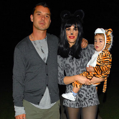 Gwen Stefani, Gavin Rossdale, Kingston Halloween