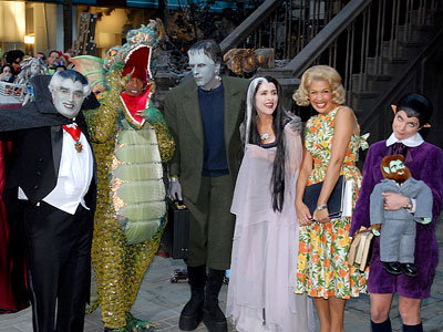 Al, Tiki, Matt, Meredith,  Hoda and Natalie, The Today Show, Halloween