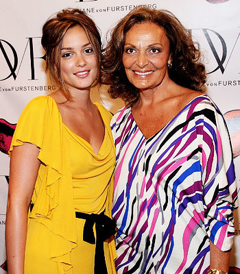 Leighton Meester, Diane von Furstenberg, New York, Fashion Week, Day 3
