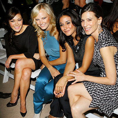 Lindsay Price, Malin Akerman, Emmanuelle Chriqui and Perrey Reeves