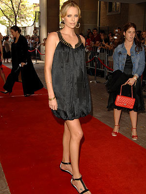 Toronto Must-Haves, Charlize Theron's Flats, 2008 Toronto Film Festival