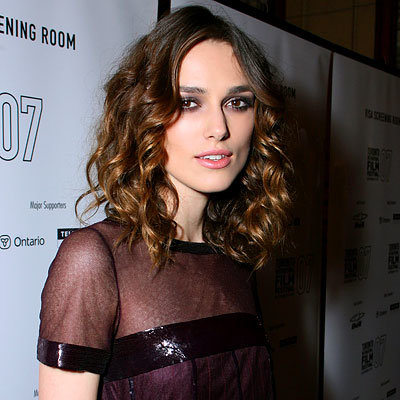 Toronto Must-Haves, Keira Knightley's Eye Make Up, 2008 Toronto Film Festival