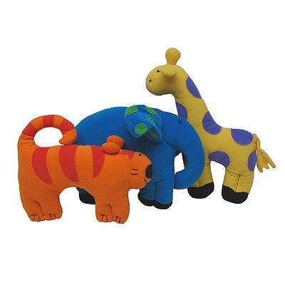 GIFTS THAT GIVE BACK, UNICEF Jungle Soft Toys