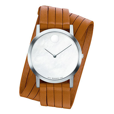 HOLIDAY GIFT GUIDE, GIFTS THAT GIVE BACK, Ailey Movado Museum Dial Timepiece