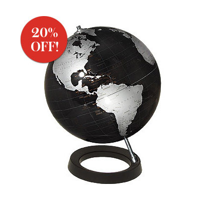 Gift Guide 2008, Gifts for Him, Atmosphere Globe